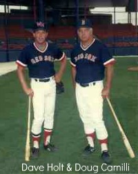 Dave with Doug Camilli a great baseball teacher and coach.