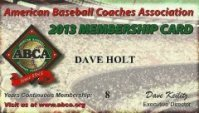 American Baseball Coaches Association ABCA