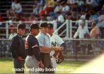 How to coach youth baseball and working with umpires