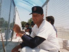 Dave Holt Boston Red Sox minor league manager