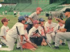 Youth Baseball coaching and playing developing players