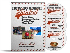 youth baseball coaching tips 3 dvd box set