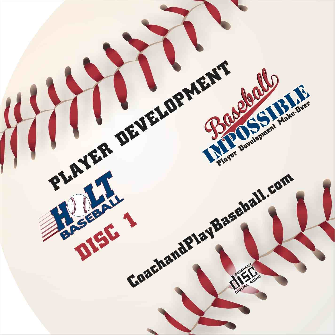 Baseball Audio CDs: How to coach youth baseball 3 CD Set
