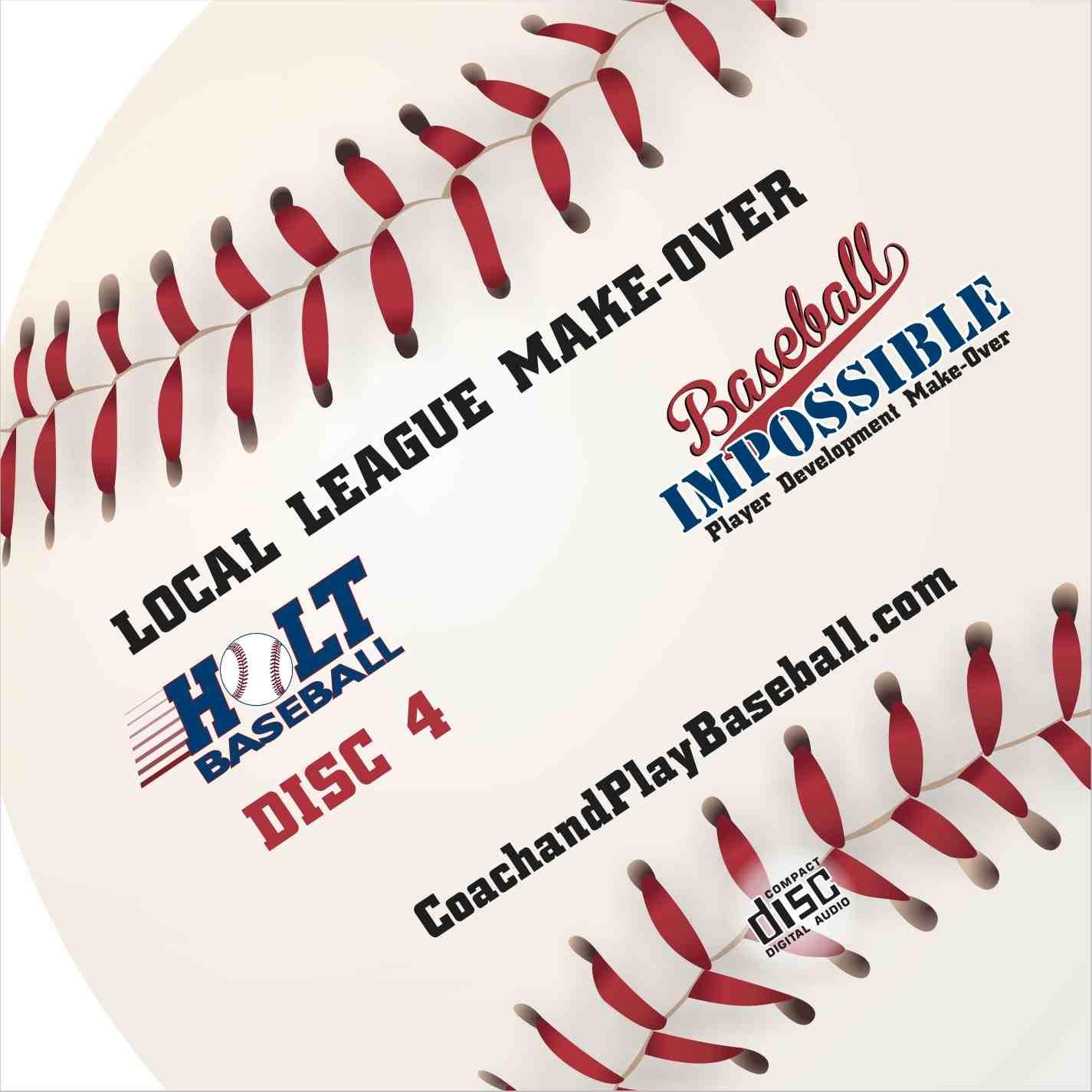 local Minor League Make-Over Youth Baseball
