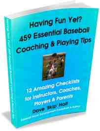 tips for hitting, pitchers, coaches, position players, base runners, parents.