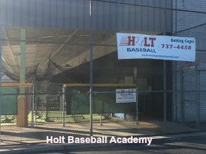 Holt Baseball Academy Training center lessons