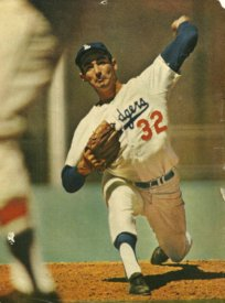 baseball pitches Sandy Koufax motion