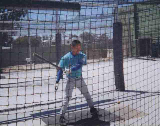 Holt Baseball Batting Cages Ray Chang