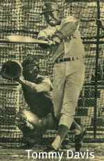 Tommy Davis baseball hitting swing.