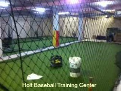 Holt Baseball Training Center: Indoor baseball and softball instruction, lessons and team practice facility in Summerville. Private instruction, camps, clinics & team practice, memberships.