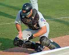catcher blocking pre game drills