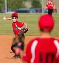 infielders throwing position