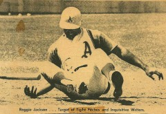 league baseball coaching tips Reggie Jackson