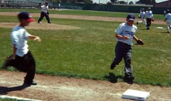 sandlot baseball games and pick-up games