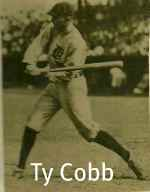 Ty Cobb Hitting Technique<p>