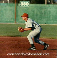 youth baseball training for infielders Joe Swope
