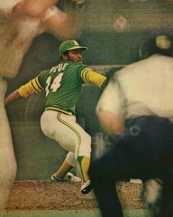 baseball coaching drill for pitchers Vida Blue