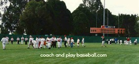 baseball pre game practice routine skills and drills Holt Baseball Camps