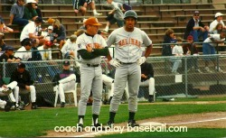 baserunning strategies from 3base coach helping instruct base runners