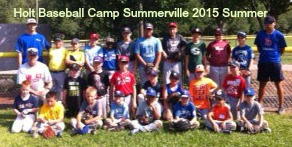 Summerville Summer Baseball Camp by Dave Holt