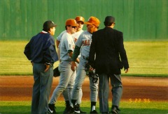 lost another argument with an umpire