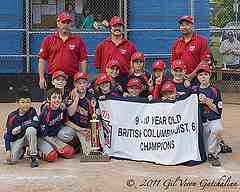 Here we are with the all star baseball banner from little league and a huge trophy to collect some more dust.