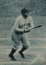 youth baseball coaching tip for better hitting. Babe Ruth classic swing.