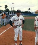 Dave Holt coach and play baseball Florida State League All Star Game Manager
