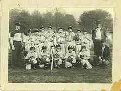 Unknown old little league team picture