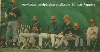baseball coaching baseball training