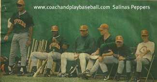 baseball coaching baseball training