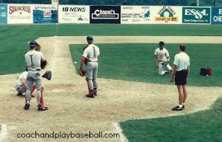 catching drills for spring training tips