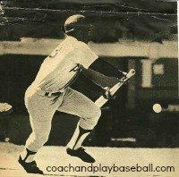 coaching kids baseball bunting