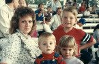 My awesome wife Sheila and kids Rusty, Peter and Rachel