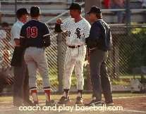 umpires coaches checklist for working with umps
